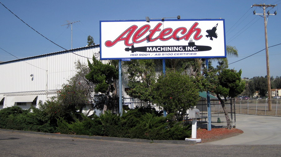 Altech Machining, Inc. Facility